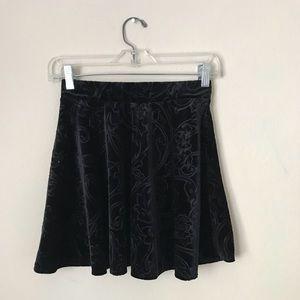 Velvet Forever21 Skater Skirt ⭐️